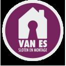 Logo logo Van Es sloten en montage